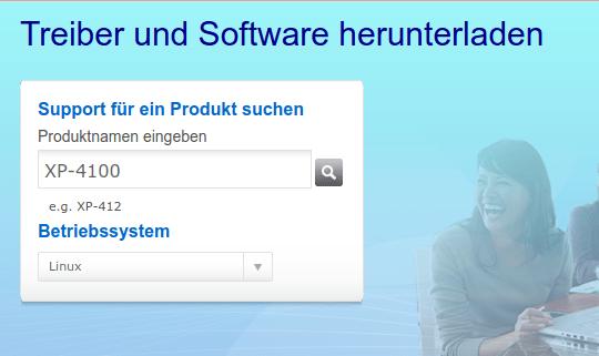 Epson - Drucker -Treiber -- Download